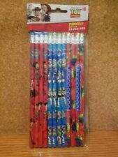 Disney Toy Story Pencils School Stationary Supplies Party Favors 12 Pieces NEW