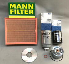 Land Rover Discovery  TD5 Filter Kit Premium Brands + Workshop Manual CD