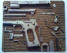 Gun parts anti-slip mouse mat 220 x 180 x 2mm