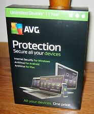 AVG Protection Internet & Antivirus 2017 Unlimited PC/Mac/Android - 1 year