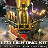 Led Light Kit For LEGO 10232 Palace Cinema Creator Expert Lighting Bricks Set