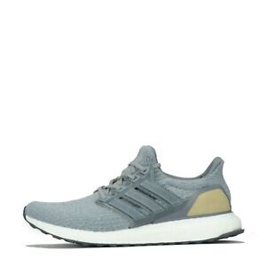 Adidas Ultra Boost Men's Running Trainers Shoes Grey UK 8
