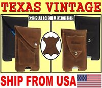 # TEXAS REAL GENUINE LEATHER BELT POUCH HOLSTER CASE COVER FOR MOBILE PHONES