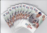 (10) Card Lot 2014 Panini USA Baseball Box Set Pick Your Player