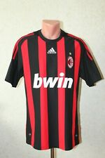 Milan Italy Football Shirt Maglia Jersey Camiseta Soccer 2008 2009 Home Size L