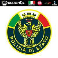 Sticker POLIZIA Adesivo Parete Decal Laptop Mural Casco Auto Moto Camper Vinile