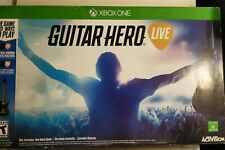 New open box Guitar Hero Live Bundle (Microsoft Xbox One, 2015) Complete