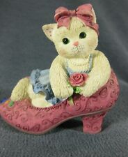 Calico Kittens It's Not Easy To Fill Your Shoes #314501 Figurine P Hillman 1997