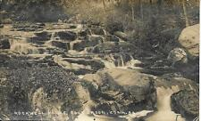 Rockwell Falls Colebrook NH vintage real photo postcard postally used in 1915?
