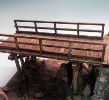 1/35 échelle en bois multispan pont à poutre / chevalets-Kit de modèle militaire