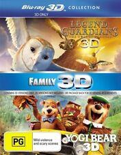 Yogi Bear / Legend Of The Guardians - The Owls Of Ga'hoole (Blu-ray, 2012, 2-Disc Set)
