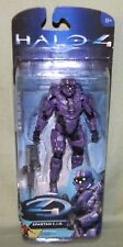 "PURPLE TEAM SPARTAN C.I.O. WITH DMR Halo 4 Series 2 McFarlane Toys 5"" Figure"