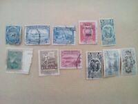 lot N°21 - 11 timbres EQUATEUR