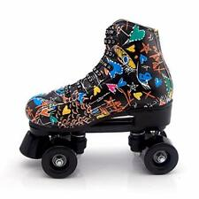New listing Risup Roller Skates for Women and Mens Classic High-top 4 Wheels Skating Roll...