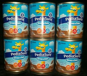 24 CANS PediaSure Grow and Gain Chocolate 8oz Liquid Pediatrician Recommended #1