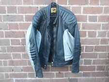 MOTORCYCLE LEATHER JACKET MCA VINTAGE STAGG