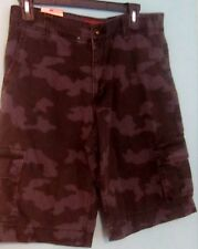 "Boys 16 Shorts Cargo Green Arizona Jean Co. Green Camouflage NWT 29"""
