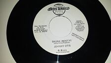 JOHNNY OTIS Skunk (Booty) JAZZ WORLD 71 PROMO RARE FUNK 45