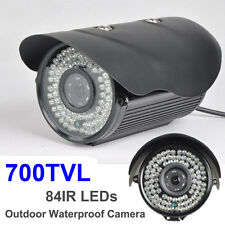 SONY CCD 700TVL Effio-E 84IR LEDs 6mm Day& NIGHT VISION CCTV Bullet Camera BLACK