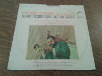 33 tours pops goes the trumpet (holiday for brass) al hirt, boston pops, arthur