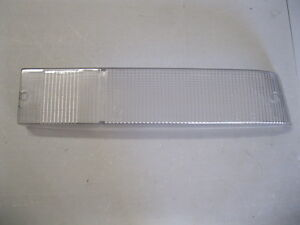 Ferrari 512 TR, Testarossa RH Tail Light (clear) Lens Part# 147184
