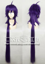 MAGI Sinbad Cosplay wig costume purple colour long ver
