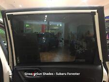 Groovy Car Sun Shades SUBARU FORESTER OUTBACK XV. 4-PCS Rear Door Windows Mesh.