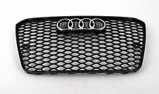 Audi A5 S5 RS5 Style front grille gloss black mesh titanium style  13 14 15