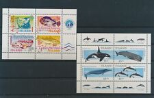 LM80485 Iceland whales fish sealife sheets MNH