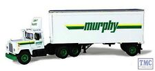 60-0242 First Gear 1:64 SCALE Mack R Model Murphy Motor Freight 28' Pup Trailer