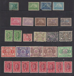 USA 1865 Sam Barry. 1898 Stock transfer Int Revenue tax stamps.1928 RD31.