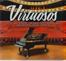 2 CD's + 1 DVD Virtuosos VARIOUS Yo yo Ma, 2 Cellos, Kenny G, Piano guys (SONY)