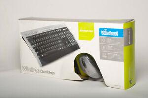 IOGEAR Wireless Keyboard and Mouse Combo Mac PC GKM531RA