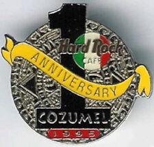 """Hard Rock Cafe COZUMEL 1995 1st Anniversary PIN Mayan Calendar w/ """"1"""" HRC #2130"""