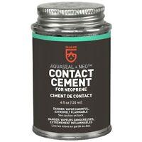 Gear Aid Aquaseal NEO Neoprene Contant Cement 4oz Waterproof Repair for Wetsuits