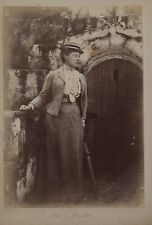 Alger Algérie Mme Hunter UK 3 Photos Snapshots Vintage Albumine c1895