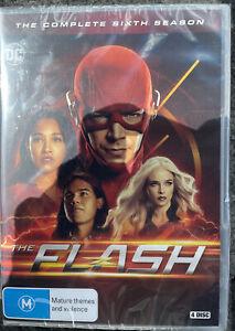 The FLASH : Season 6 : NEW DVD Free Post