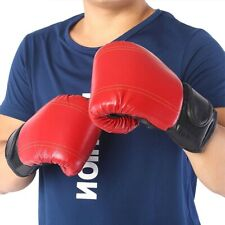 Pair Of MMA Boxing Punch Bag Gloves Sports Thai Sparring Kickboxing Training