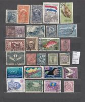 LOT STAMPS WORLDWIDE  USED (L27944)