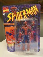 "Marvel Legends Spiderman 6"" Vintage Retro Collection SPIDER-MAN in-hand Parker"