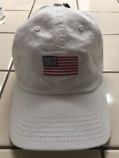 Brand New RIPPLE JUNCTION White USA Flag Baseball Cap