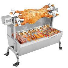 110V 132LBS Hog Roast Machine BBQ Spit Roaster Rotisserie Grill Roasting Motor