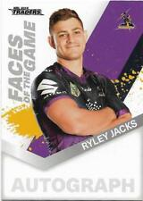 2018 NRL Traders Faces of the Game (FG 26 / 64) Ryley JACKS Storm