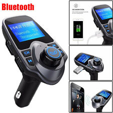 Car Kit Bluetooth MP3 Player FM Transmitter Wireless Radio Adapter USB Charger