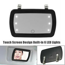 Touch Screen Design Car Sun Visor Sun-shading LED Make-up Mirror Cosmetic Mirror