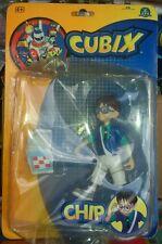 CUBIX - IL MONDO DEI ROBOT - CHIP - Year 2001 - Figure Doll Action World Plush
