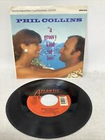 Phil Collins A Groovy Kind Of Love 1988 Atlantic Rock Pic Slv 45rpm