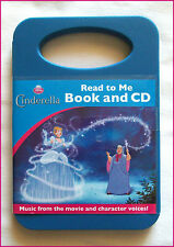 CD - CINDERELLA DISNEY PRINCESS - Read to Me - Audio CD & 24pg Story Book - NEW