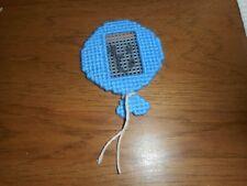 LIGHT BLUE BALLOON REFRIGERATOR MAGNET