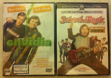 PELICULA DVD PACK JACK BLACK ENVIDIA+SCHOOL OF ROCK PRECINTADAS